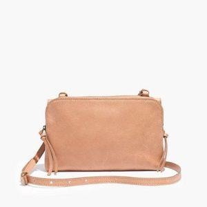 Madewell Twin Pouch Crossbody Bag